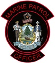 MARINE PATROL PATCH-RED PIPING